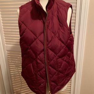 Jcrew Factory Excursion Vest red